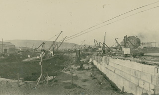 Swansea Drydocks April 24th 1923