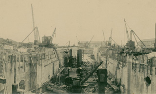 Swansea Drydocks December 1923