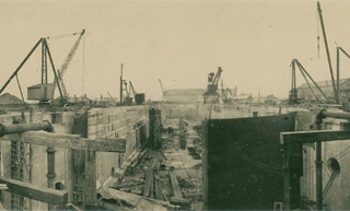 Swansea Drydocks February 1924